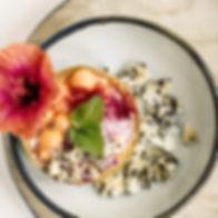 Vegan Food prepared in house at Ananda Yoga Retreats Ibiza