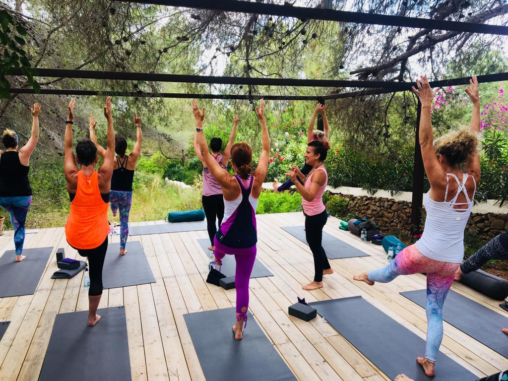 Yoga in Ibiza with Ananda