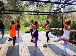 Yoga in Ibiza with Ananda
