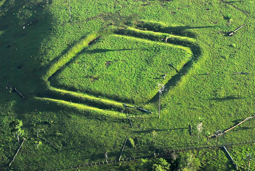 Amazon civilisation, megalithology, spatial discovery