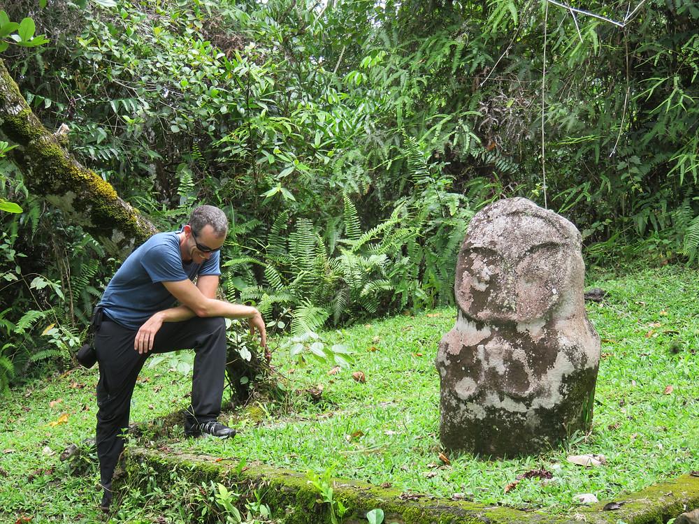Sulawesi jungle megaliths