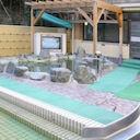 天然温泉ジャブの露天風呂