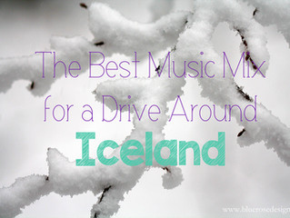 The Best Music Mix for a Drive Around Iceland