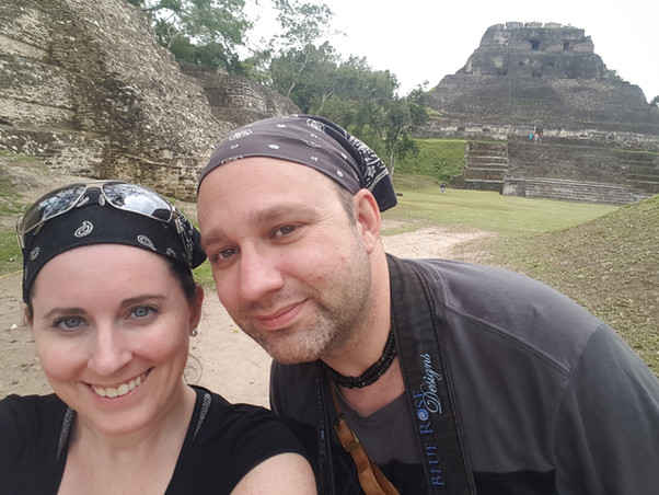 Gregory and Laura in Belize