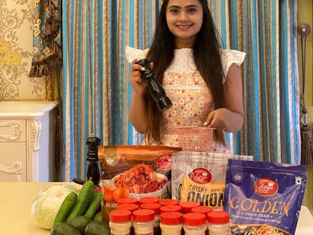 Super Convenient Cooking and Garnishing products by Kings Dehydrated Foods. By: @Nikishahdubai