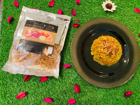 Oats Biryani Recipe With Crispy Onions By Kings Dehydrated Foods