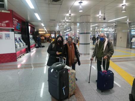 Llegada a Narita