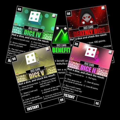 StoX Dice Cards