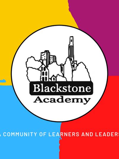 Colorful Blackstone Academy Charter School Logo