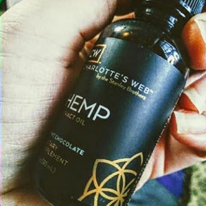 bottle of CBD Oil Tincture