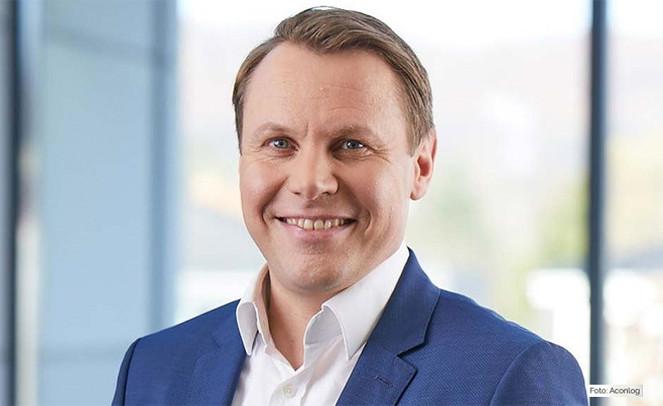 Aconlog-Chef Gruendung 2021, Oliver Blueher Start-Up