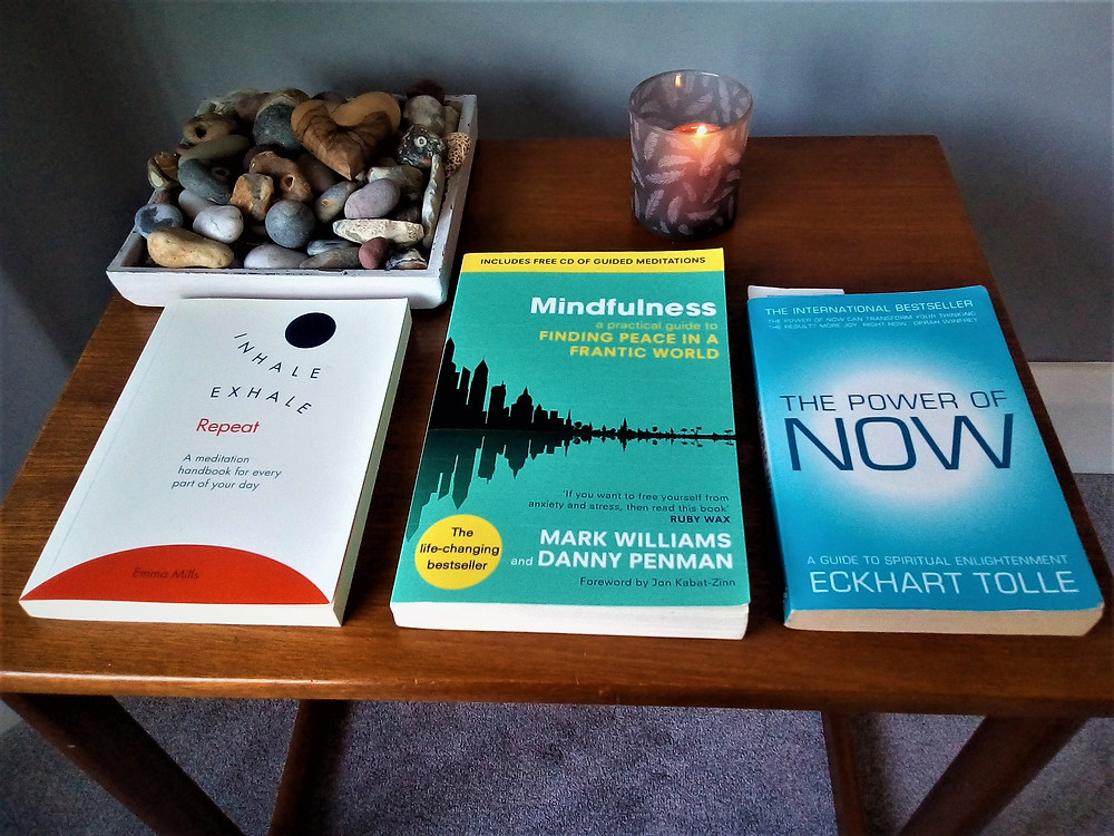 Mindfulness books recommendations, by Jane Williams Counselling (Bedford)