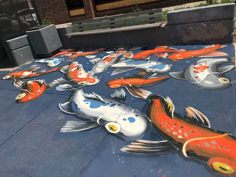 2019 - Koi Fishes
