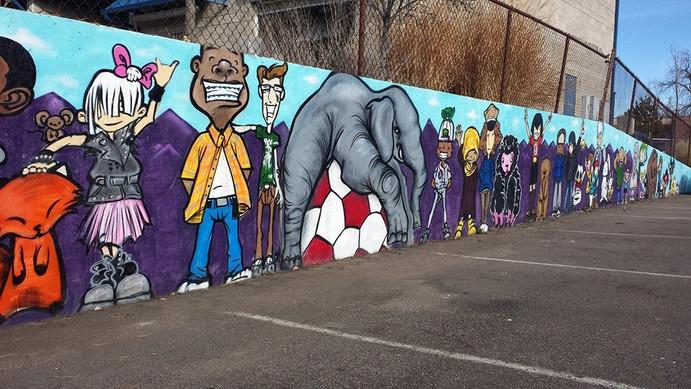 Dentist Kids Mural