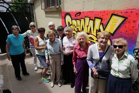Granny Does Graffiti