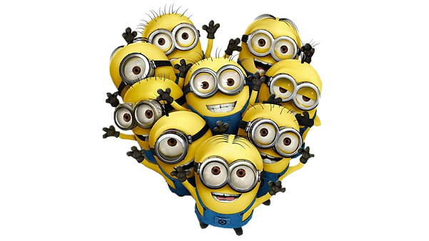 Happy-Minions-PNG-Image-with-Transparent