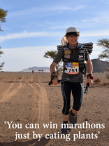 You can win marathons just by eating plants