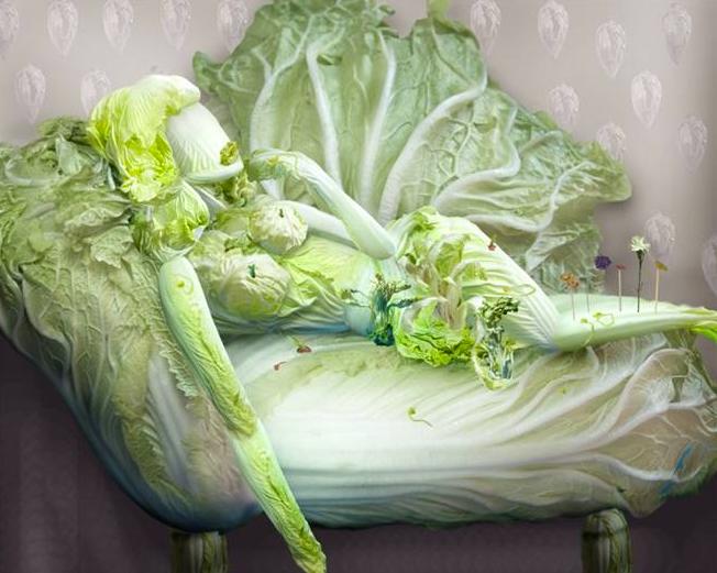 Ju Duoqi - cabbage pin up