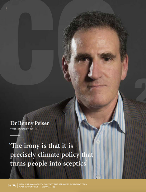 The irony is that it is precisely climate policy that turns people into sceptics
