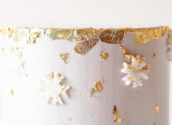 Gold Leaves (Splattered)