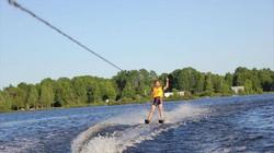 Pratique du ski nautique