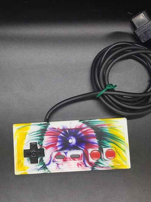 NES Controller - Tye Dye