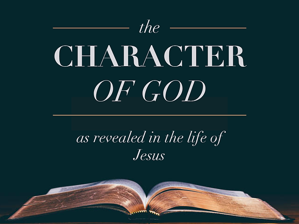 The Character of God title image