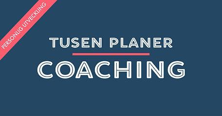 Tusen Planer Coaching