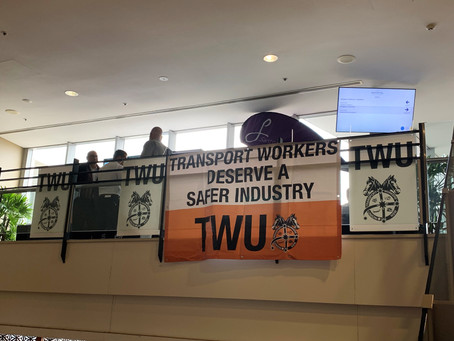 TWU Delegates' conference 2019