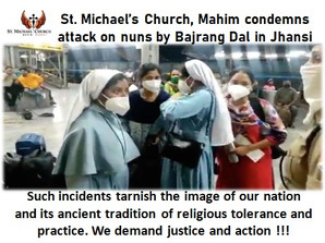St. Michael's Church, Mahim condemns attack on nuns by Bajrang Dal in Jhansi