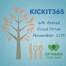 Kickit365 Food Drive