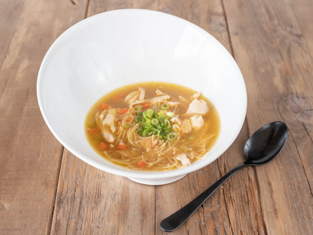 This Easy Chicken Noodle Soup Recipe Will Soothe Your Soul During Self-Isolation
