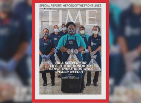 DISD Cafeteria Workers On Cover Of Time Magazine