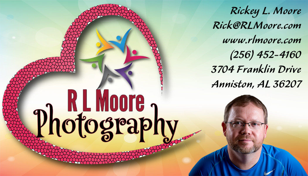 RLMoore Photography Business Card 2 Rear