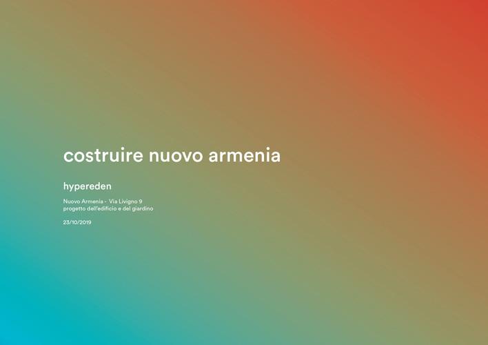 Nuovo Armenia - Ristrutturazione