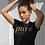 Thumbnail: Pure Apparel Short Sleeve Crew Neck Gold-Logo Tee