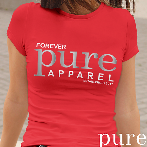 Forever Pure Apparel Short Sleeve Crew Neck T-shirt