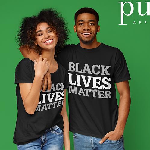 "Limited Edition ""Black Lives Matter"" Short Sleeve Crew Neck T-shirt"