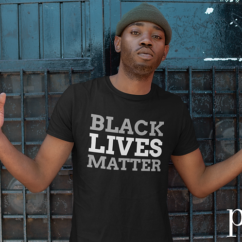 Limited Edition Black Lives Matter Short Sleeve Crew Neck T-shirt