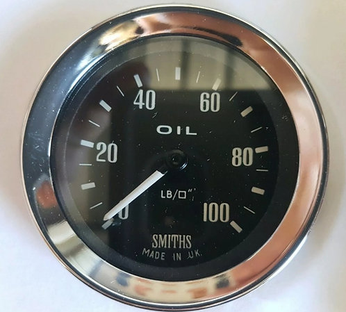SIB521 OIL PRESSURE GUAGE SMITHS 100PSI