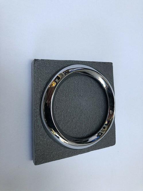 MINI K  MK2 BONNET BADGE CHROME RING