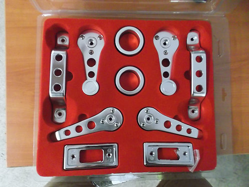 10 Piece Alloy Interior Door Handle Kit