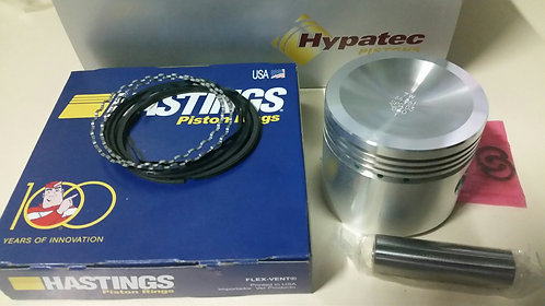 PISTON + RING SET 998 + 020 HYPATEC