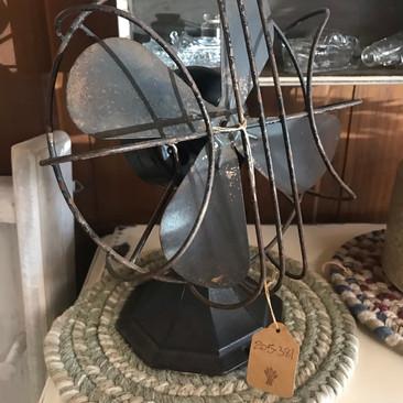 Black Antique Fan $4