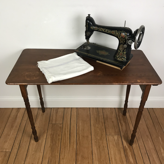 Antique Sewing Table - $75