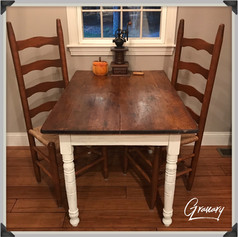 Antique Primitive Farmhouse Pine Table (SOLD)