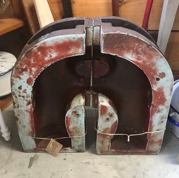 Antique Industrial Forms $45