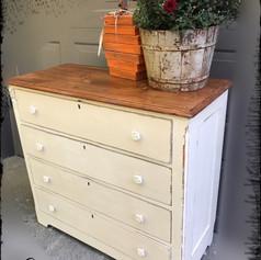 Antique Farmhouse Solid Pine Dresser (SOLD)