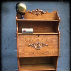 Antique Larkin Oak Secretary Bookshelf (SOLD)