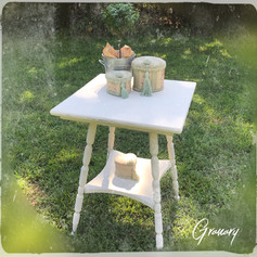 Antique Accent Table (SOLD)